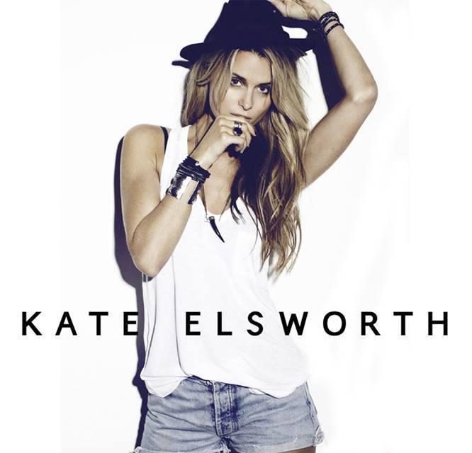 Kate Elsworth at Wall Miami