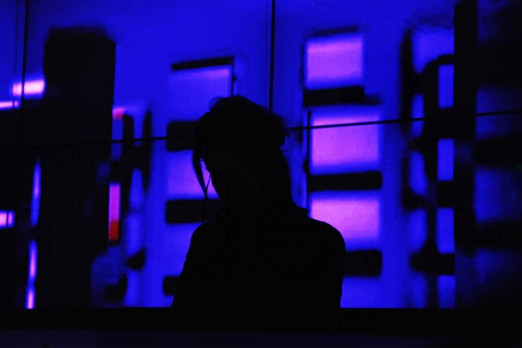DJ Unknown approaches the decks